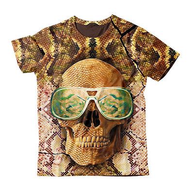 Skull with Glasses T-Shirt