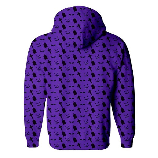 Spooky Night Zip Up Hoodie