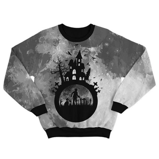 Haunted House Pullover