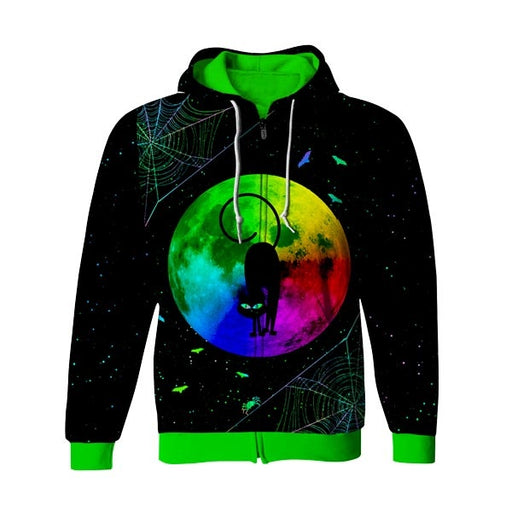 Nightmare Zip Up Hoodie