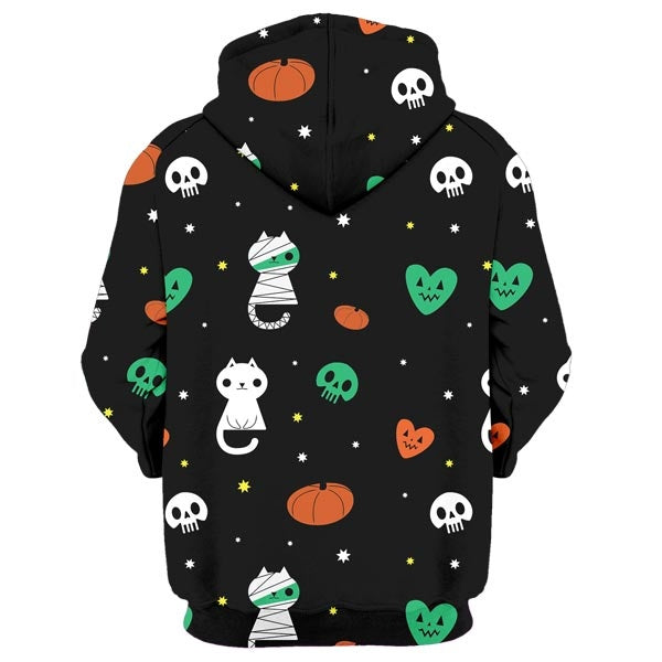Scary Cat Hoodie