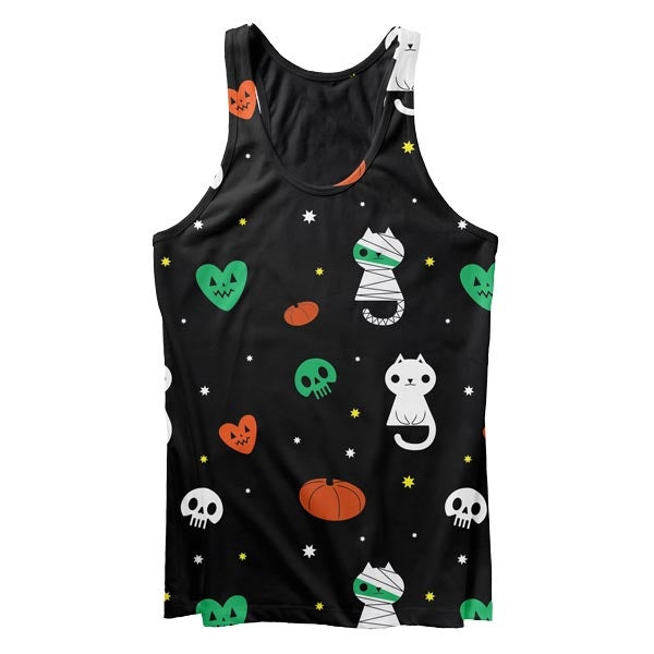 Scary Cat Tank Top