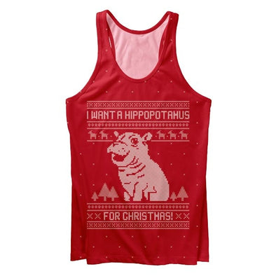 Hippo Gift Tank Top