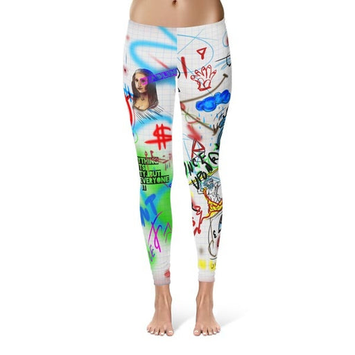 Wall Art Leggings