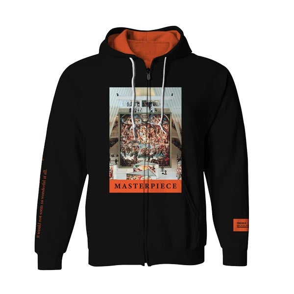 Masterpiece Zip-Up Hoodie