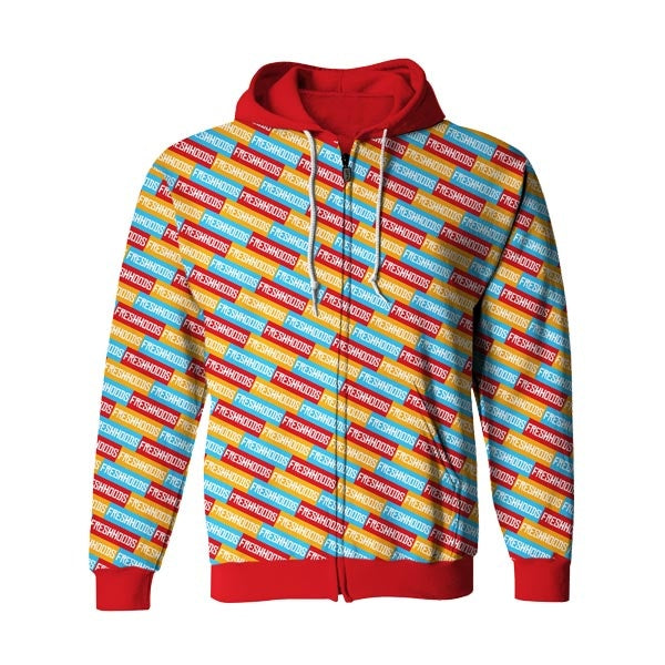 Freshing Zip Up Hoodie