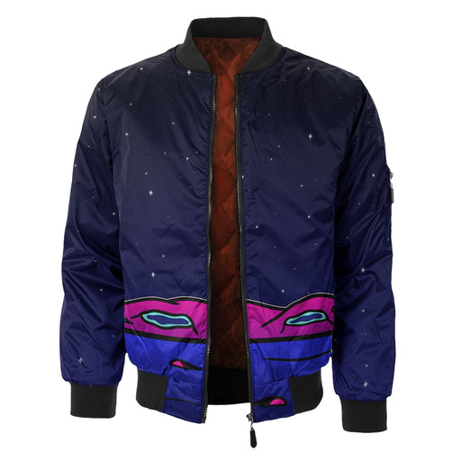 We Are Here Bomber Jacket
