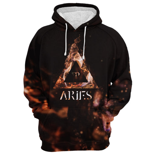 Aries In The Fire Hoodie