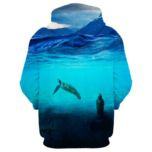 Crab In The Sea Hoodie
