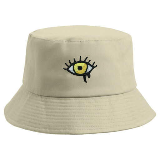 Embroidered Eye Bucket Hat