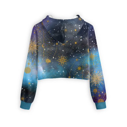 Morning Star Cropped Hoodie