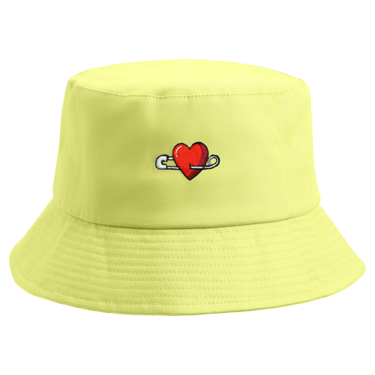 Embroidered My Heart Bucket Hat