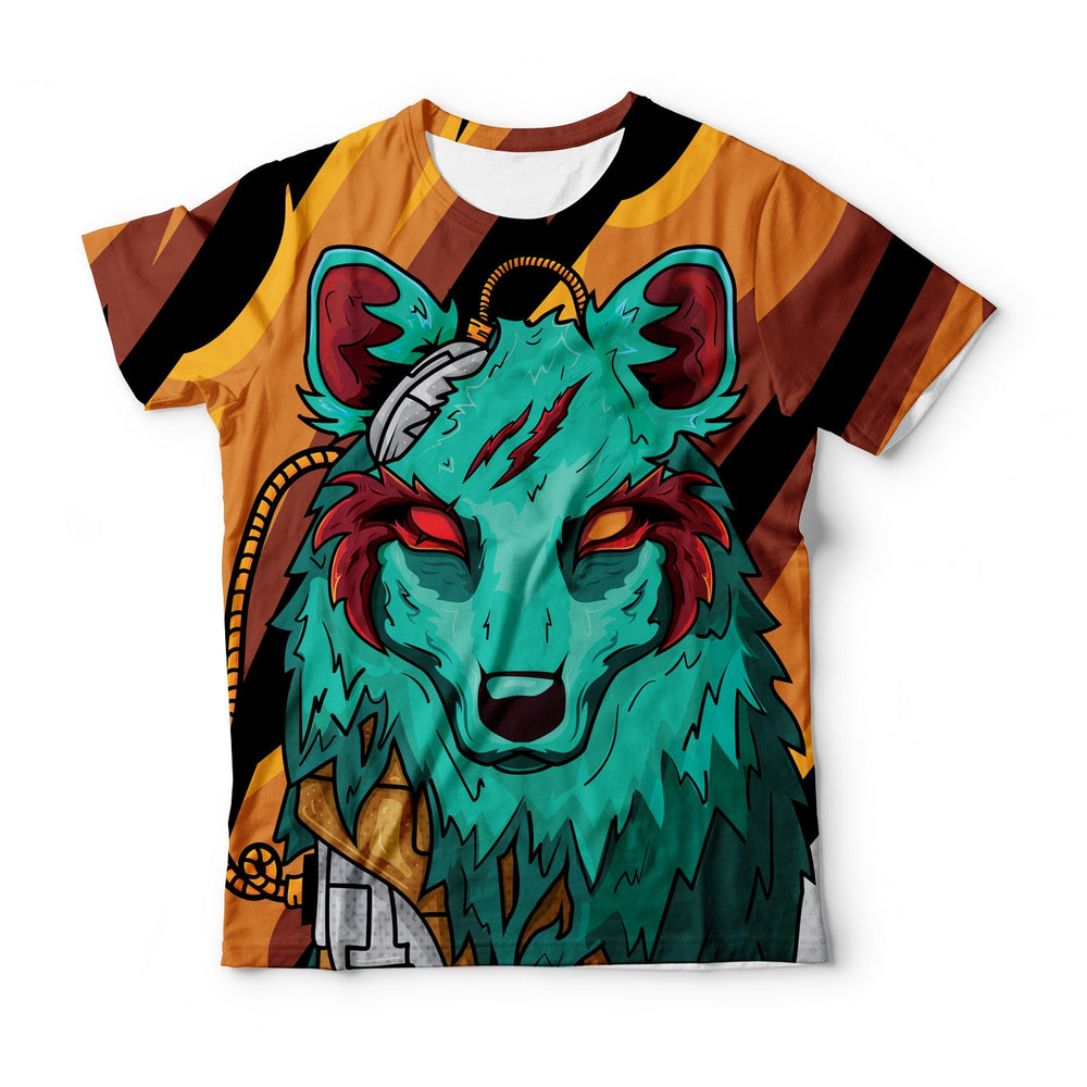 The Green Elite Wolf T-Shirt