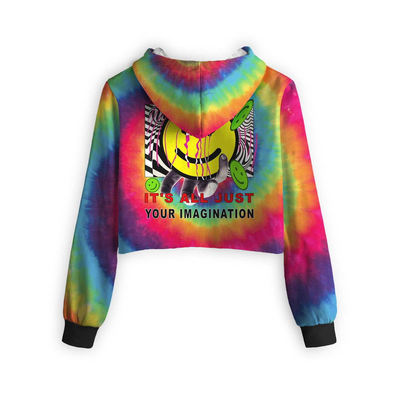 Imagination Cropped Hoodie