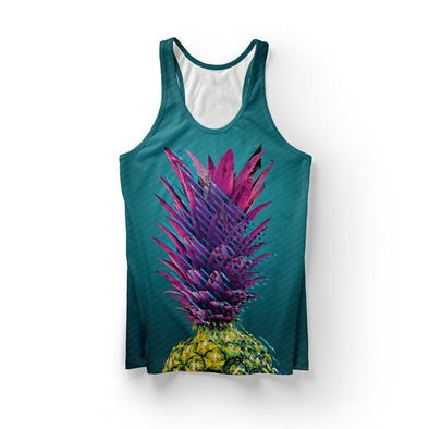 Abstract Pineapple Tank Top