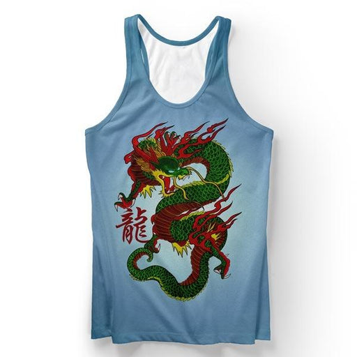 Ancient Dragon Tank Top