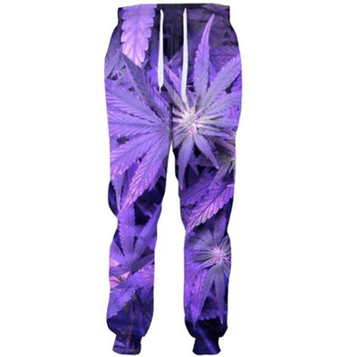 Purple Terberis Pants