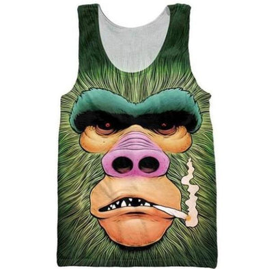 Green Ape Tank Top