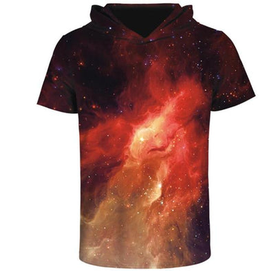 Galaxy Fusion Hooded T-Shirt