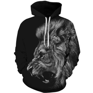 Angry Lion Unisex Hoodie
