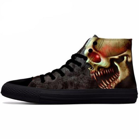 Screaming Skull Shoes