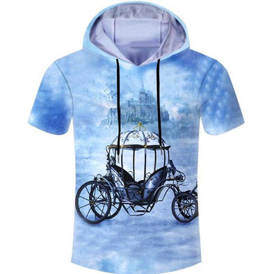 Fable Car Hooded T-Shirt