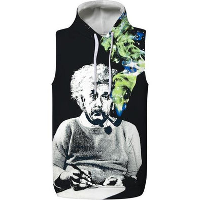 Smoking Hooded Tank
