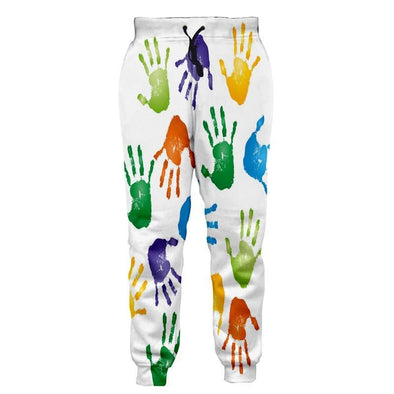Colorful Hands Pants
