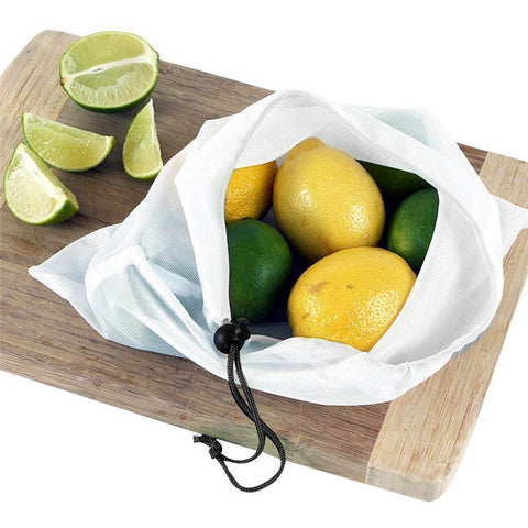 12 Pcs Reusable Produce Bags.