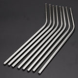 8 Stainless Steel Food Grade Metal Straw