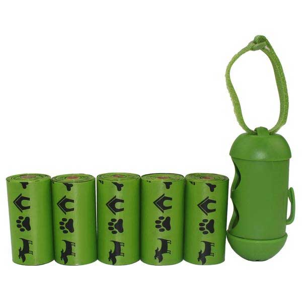 Biodegradable Dog Poop Bags Plus Dispenser