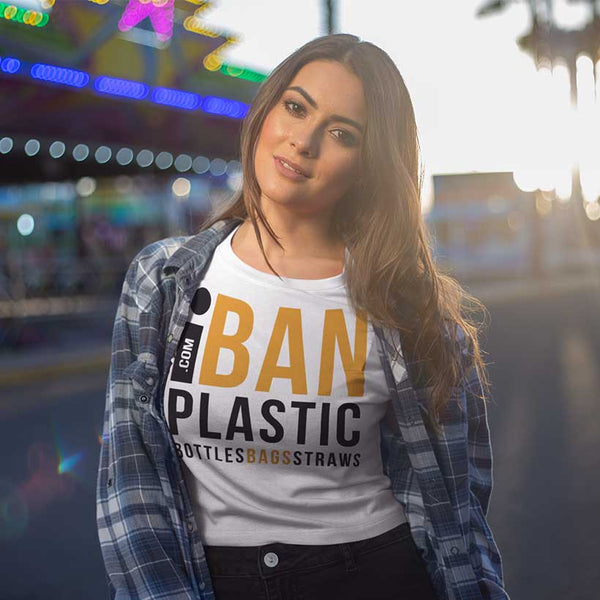 iBan Plastic T-Shirt Free Delivery!