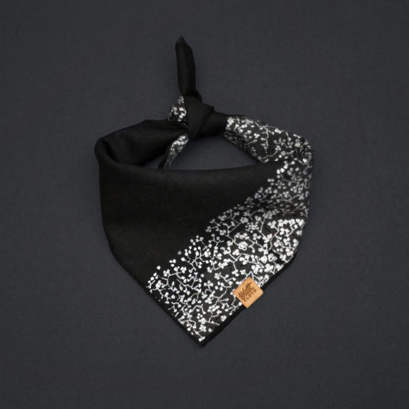 Obsidian Seaglass - Mutt Cloth Dog Bandana