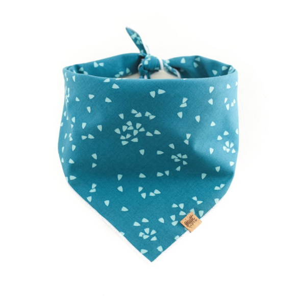 Forget Me Not - Mutt Cloth Dog Bandana