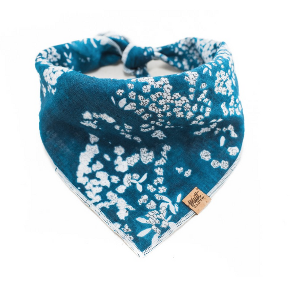Salt (Blue) - Mutt Cloth Dog Bandana