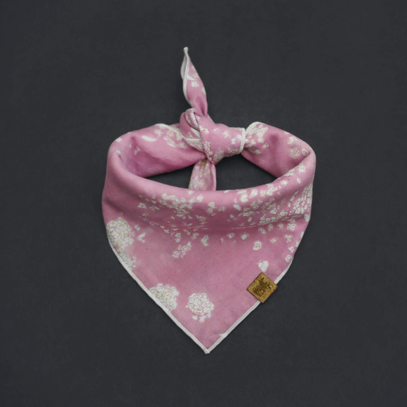 Salt (Pink) *PRE-ORDER* - Mutt Cloth Dog Bandana