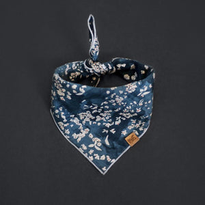 Salt (Dark Blue) - Mutt Cloth Dog Bandana