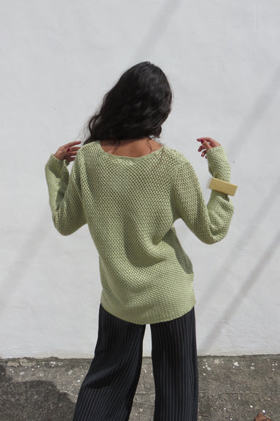 Vintage Laurel Loose Weave Sweater