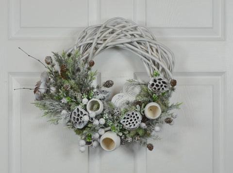 Christmas Back to Nature Country Wreath