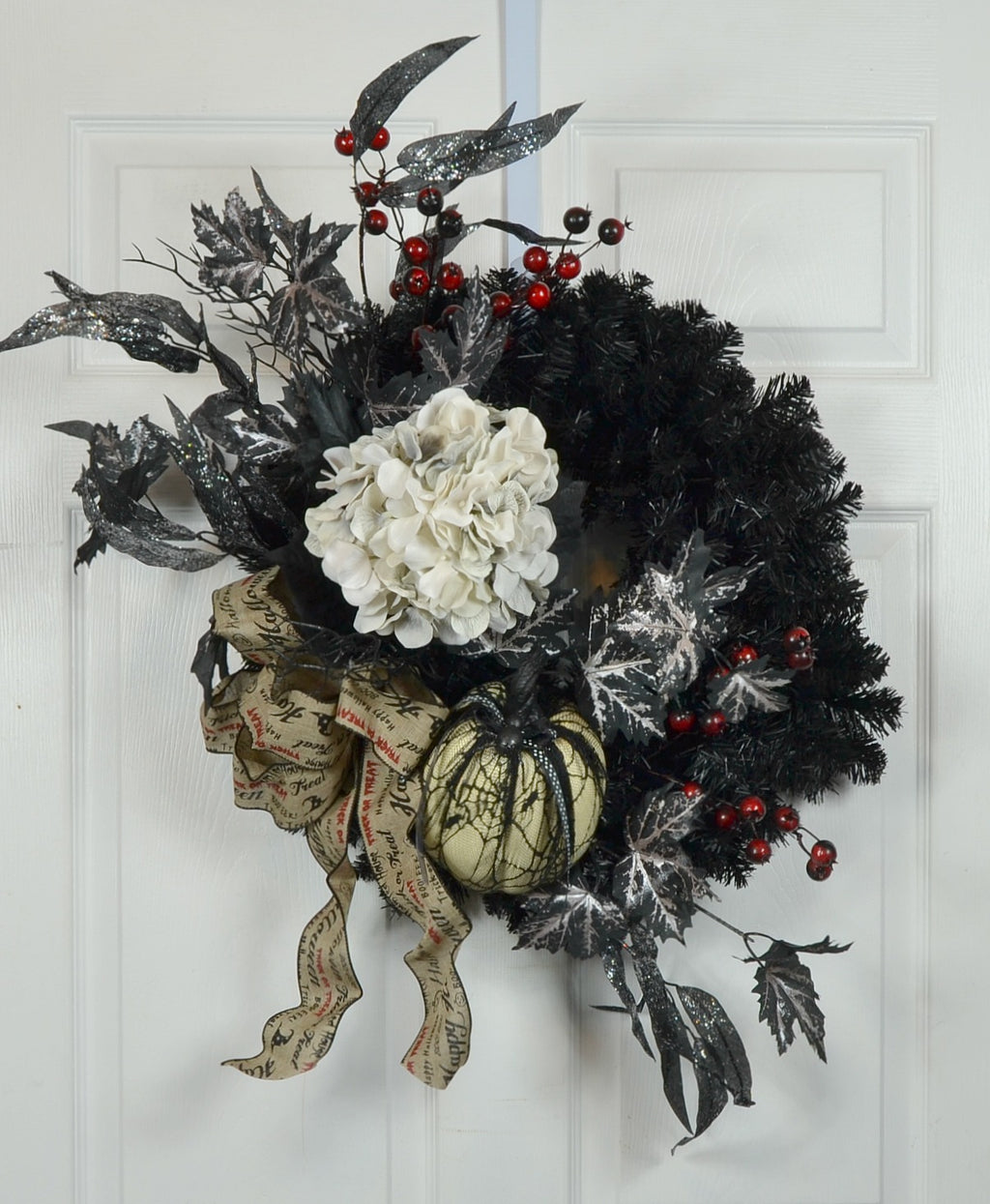 Happy Halloween Door Wreath