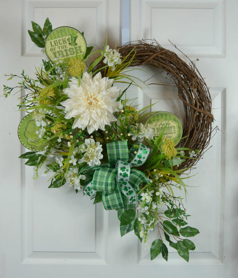 Irish Blessing St Patrick's Wreath