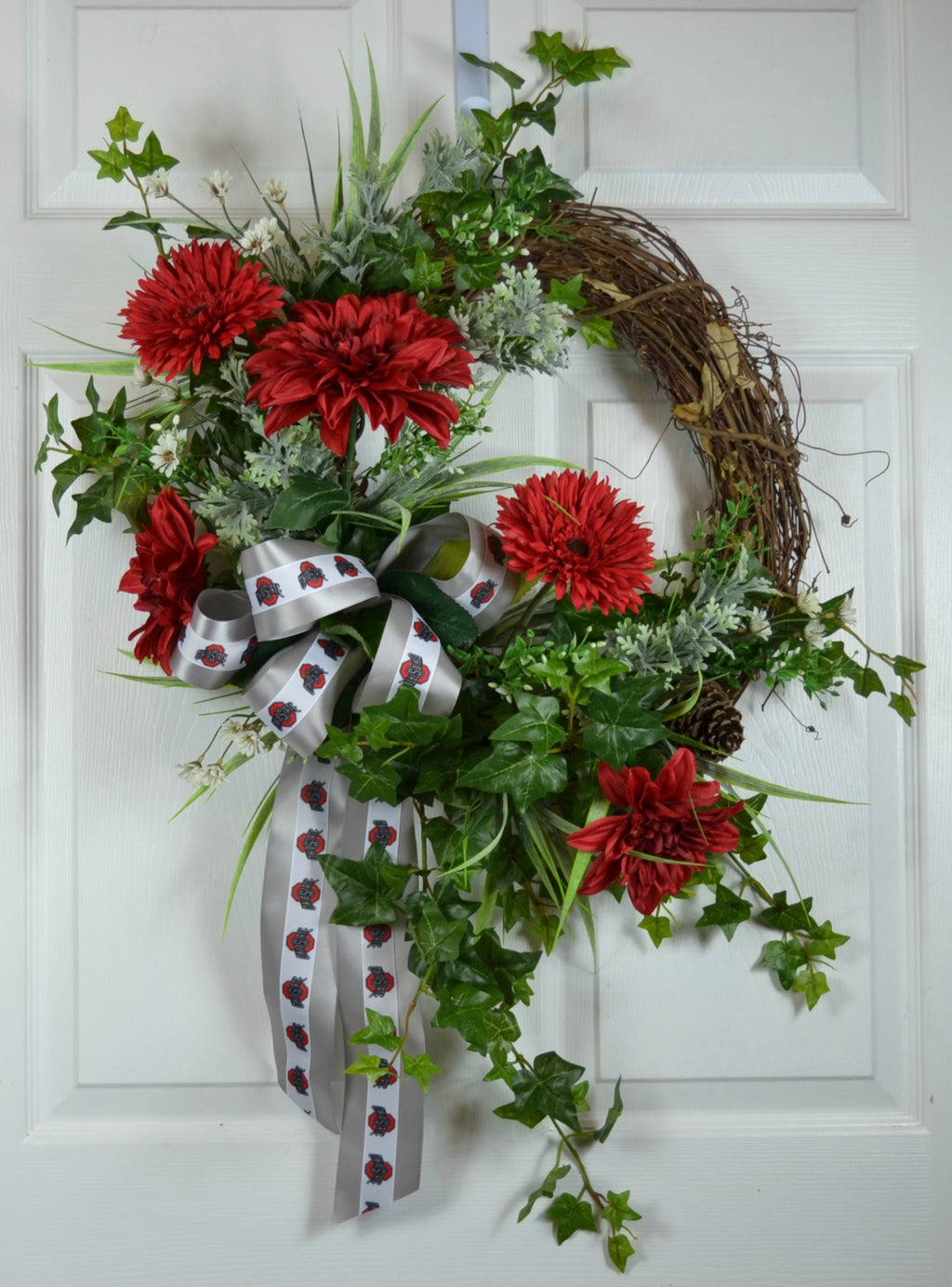 Ohio State Buckeyes Football Sports Wreath