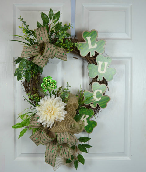 Luck St Patrick's Day Wreath