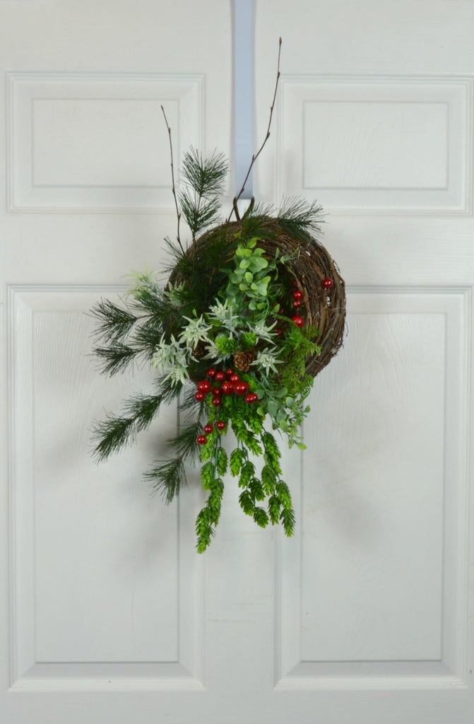 Winter RV & Camper Wreath