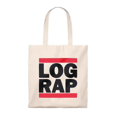 Log Rap Tote Bag