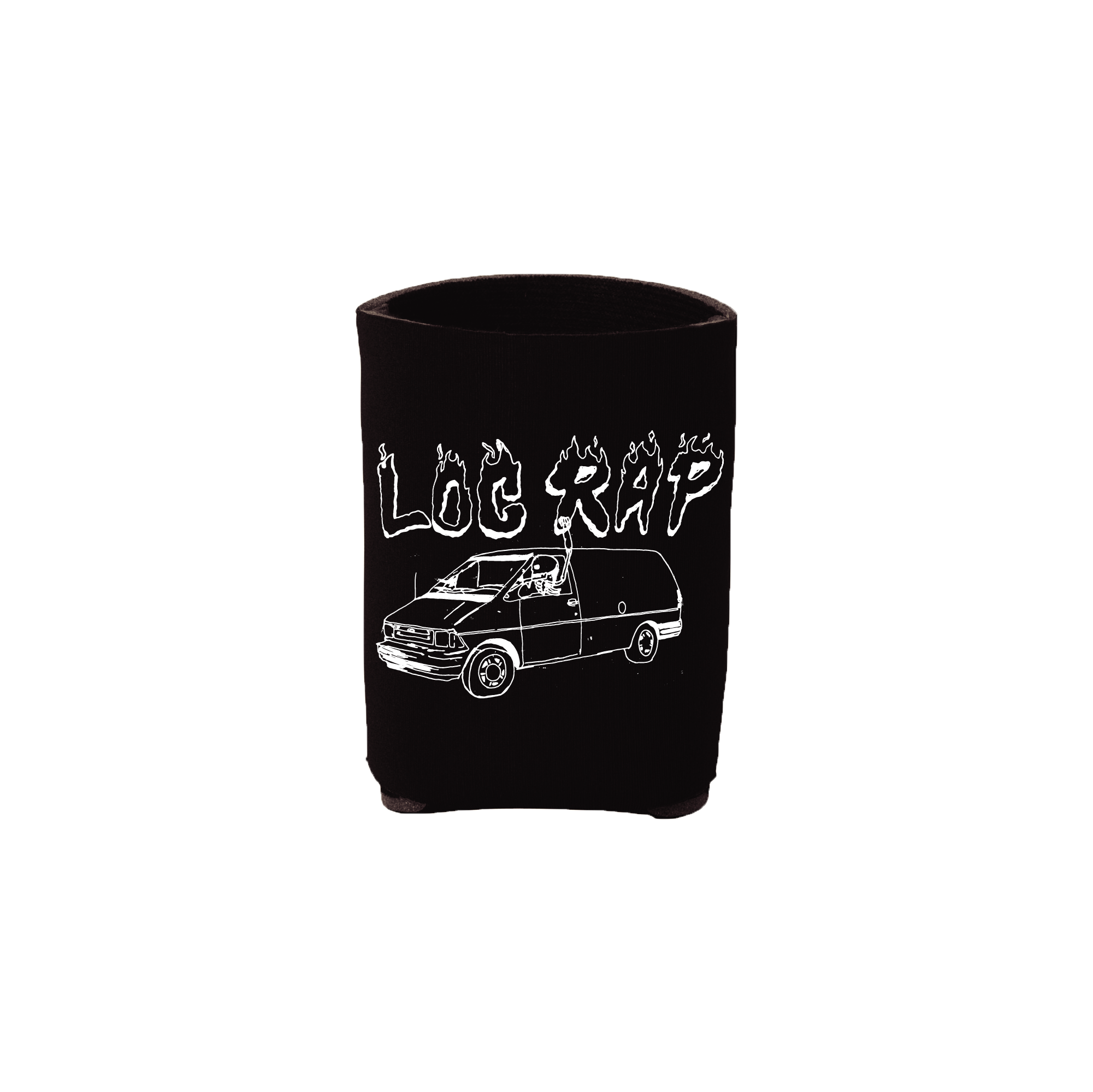 Log Rap x Mike Truck Official Koozie