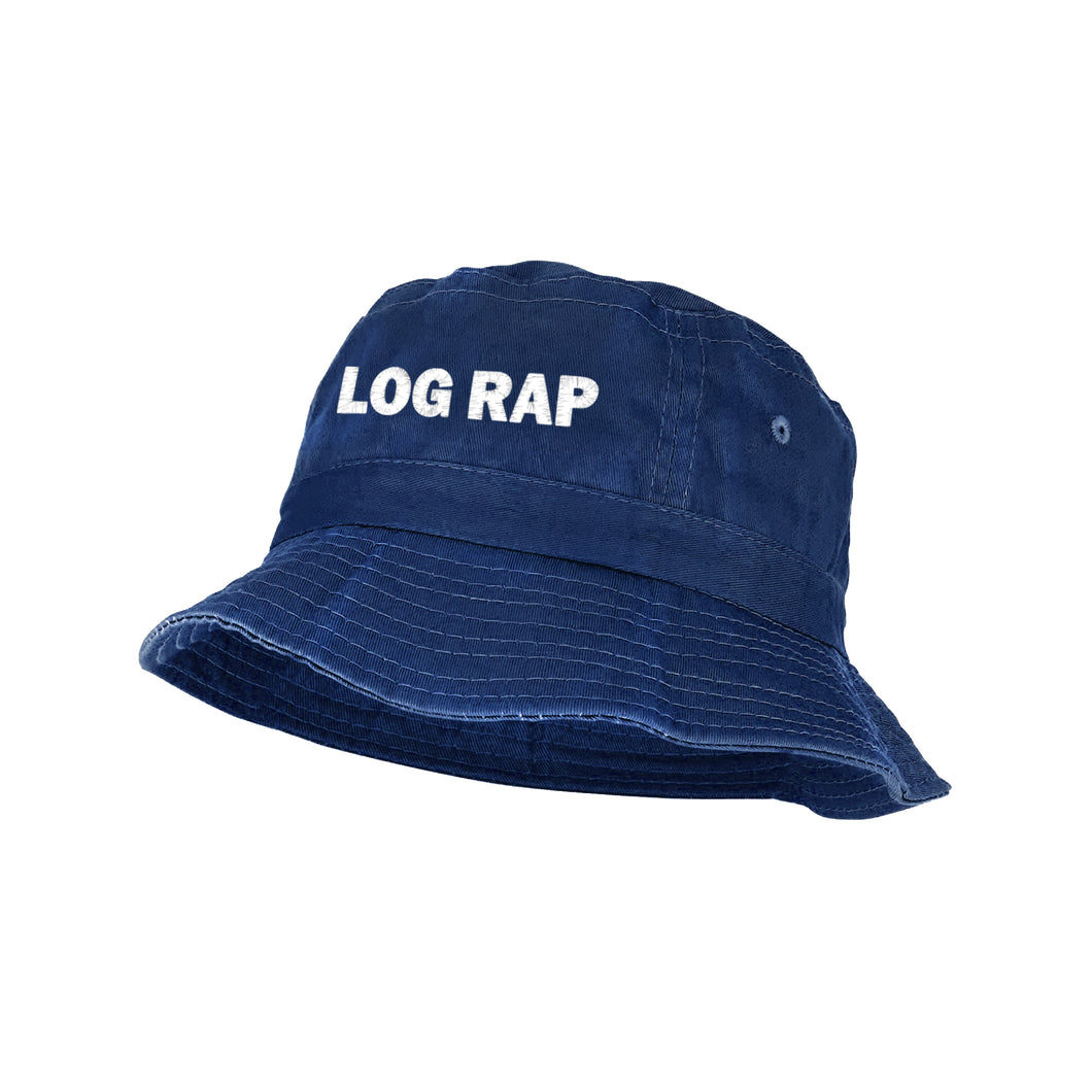LOG RAP BUCKET HAT