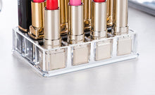"Smart Acrylic Lipstick Holder with 12 Lattices Small 5.19""L x 4""W x 1.18H"""
