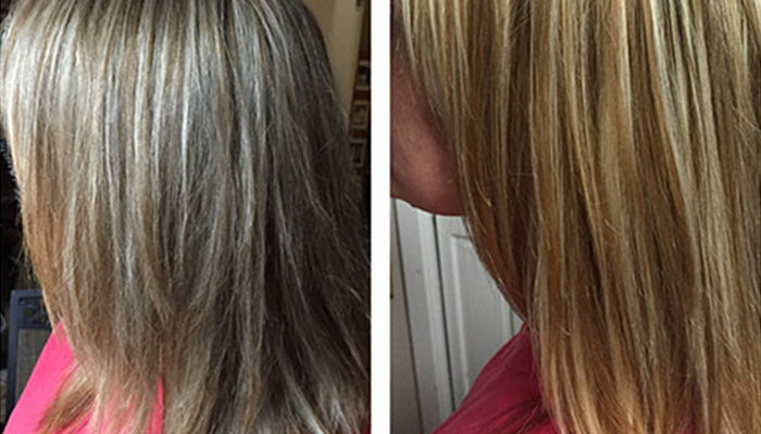 Case Study: Highlighted Hair