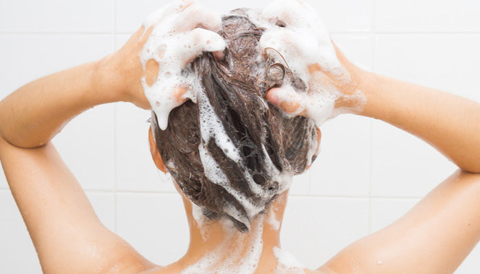 Why Shampoo Lathers – And Why Ours Lathers Less!